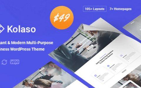 Kolaso v1.1.0  - 现代多功能WordPress主题