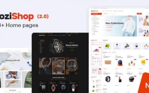 Yozi v2.0.14  - 多用途电子WooCommerce WordPress主题