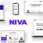 Niva  -  Creative Agency&Freelancer WordPress主题