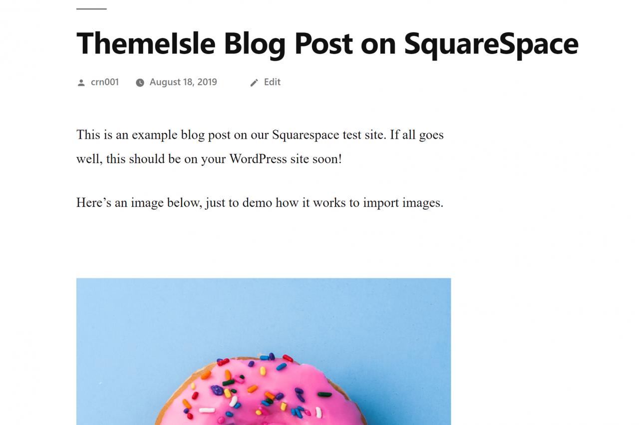 如何将博文从Squarespace切换到WordPress
