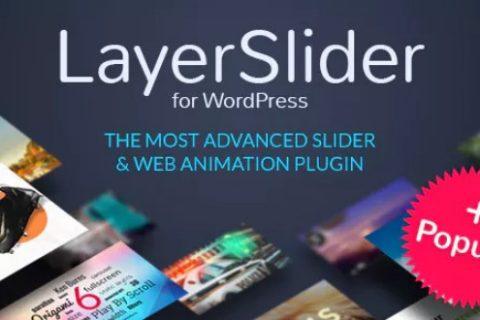 LayerSlider v6.9.1  - 响应式WordPress Slider插件
