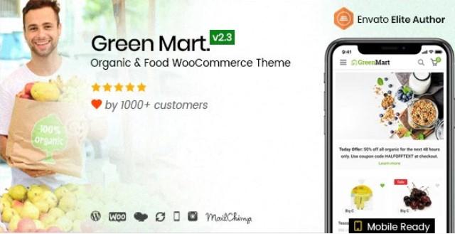 GreenMart  - 有机和食品WooCommerce WordPress主题