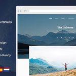 宇宙 - 清洁和最小的WordPress博客主题