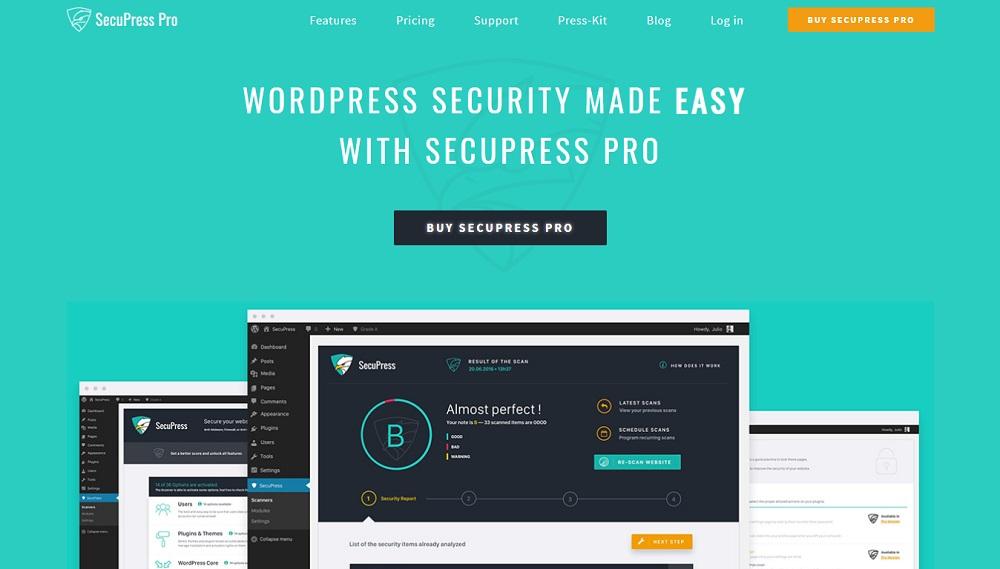 SecuPress Pro WordPress插件
