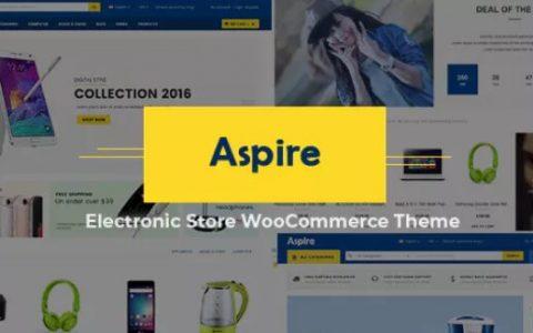 Aspire v4.3  - 多用途WooCommerce WordPress主题
