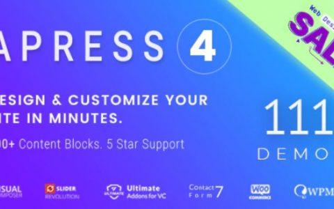 Apress v4.7.7  - 响应式多用途WordPress主题