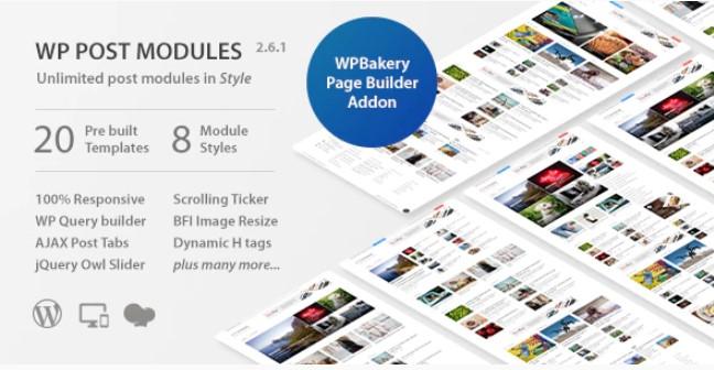 NewsPaper的WP Post Modules