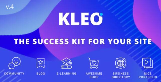 KLEO  - 专业社区聚焦,多用途BuddyPress主题