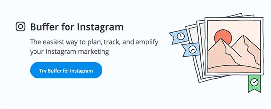 """缓冲区""""width =""""550""""height =""""221""""srcset =""""https://bloggingwizard.com/wp-content/uploads/2017/04/Instagram-Tools-To-Boost-Your-Social-Media-Presence-buffer -BW.png 550w,https://bloggingwizard.com/wp-content/uploads/2017/04/Instagram-Tools-To-Boost-Your-Social-Media-Presence-buffer-BW-320x129.png 320w""""尺寸=""""(最大宽度:550px)100vw,550px""""></p> <p><a href="""