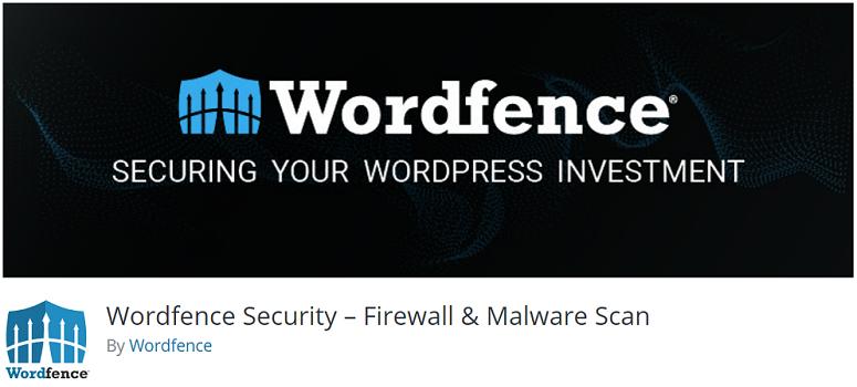 Wordfence安全插件