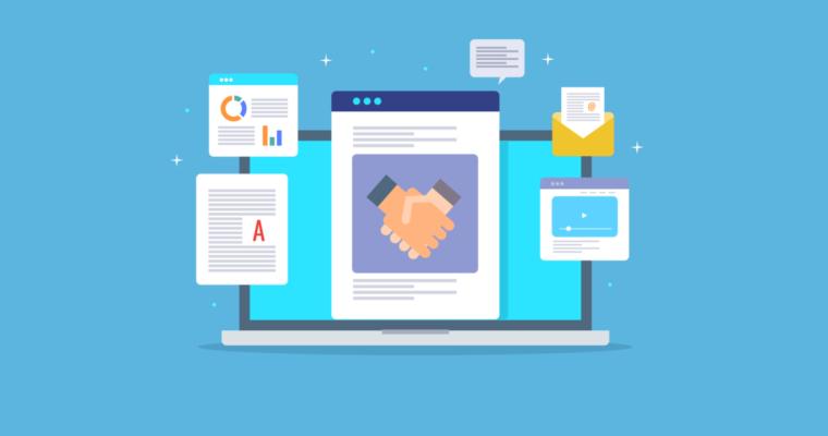 B2B内容创意产生链接和行业影响力
