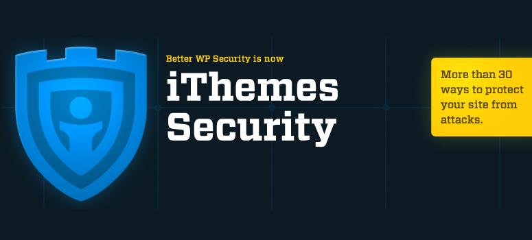 iThemes安全,安全插件
