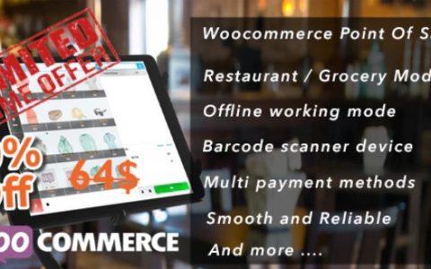 Openpos v3.4.8  -  WooCommerce销售点(POS)