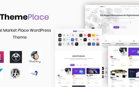 ThemePlace v1.0.6  - 响应式市场WordPress主题