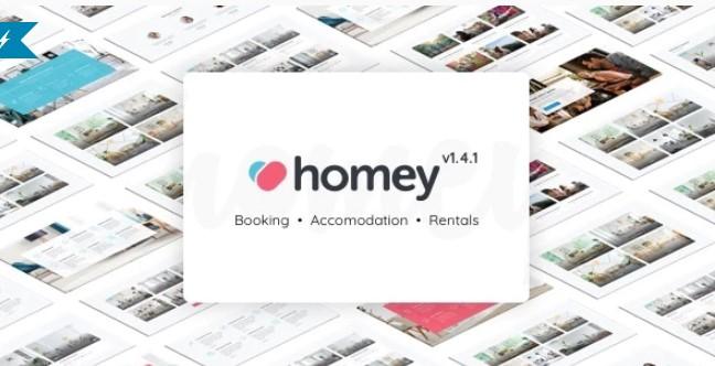 Homey  - 预订和租赁WordPress主题