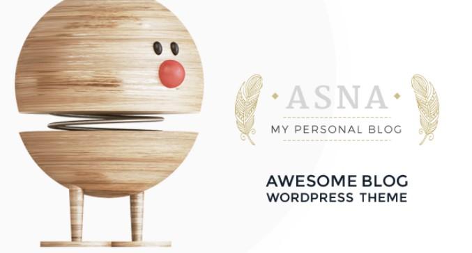 Asna WordPress主题