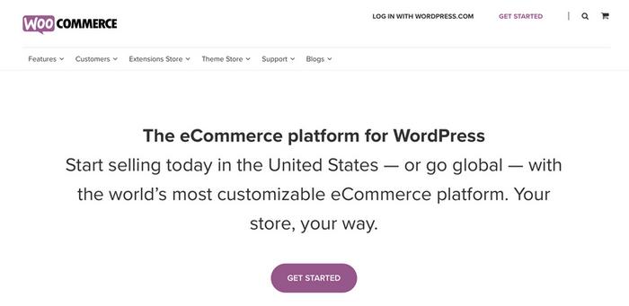 WooCommerce插件。