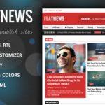 FlatNews  - 响应杂志WordPress主题
