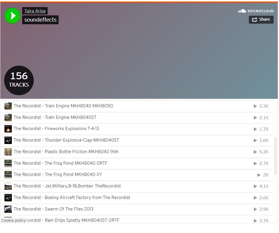 WordPress帖子中的SoundCloud音频播放器