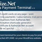 Authorize.Net支付终端Wordpress