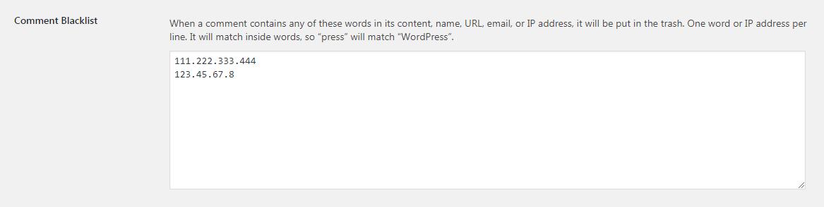 如何在WordPress评论中阻止IP地址