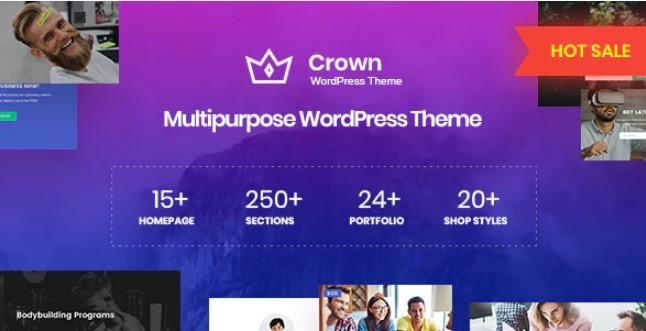 Crown-多用途WordPress主题