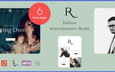 Rion v1.0 –时尚WooCommerce WordPress主题