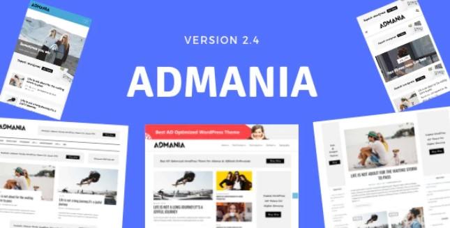 Admania-AD优化的WordPress主题