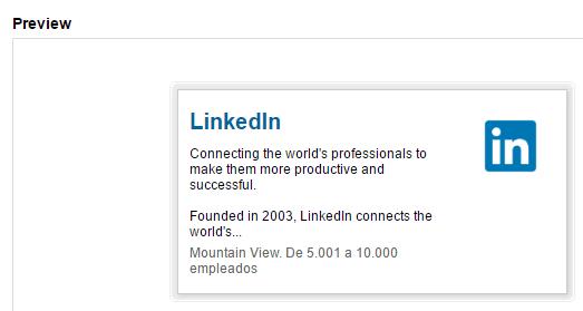 在其他平台上显示您的LinkedIn个人资料。