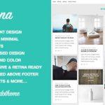 Myna-砌体WordPress博客主题