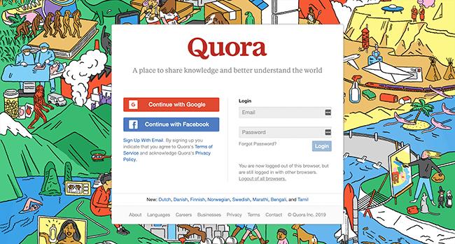 Quora的