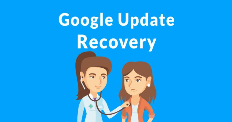 谷歌在算法更新恢复 -  4小贴士