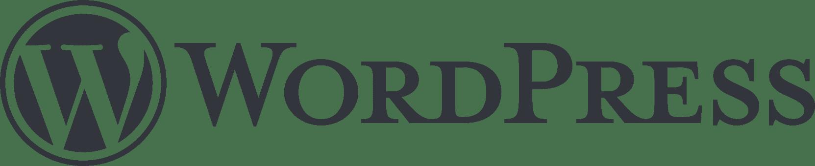 WordPress徽标