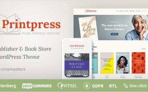 Printpress v1.0 –图书出版WordPress主题