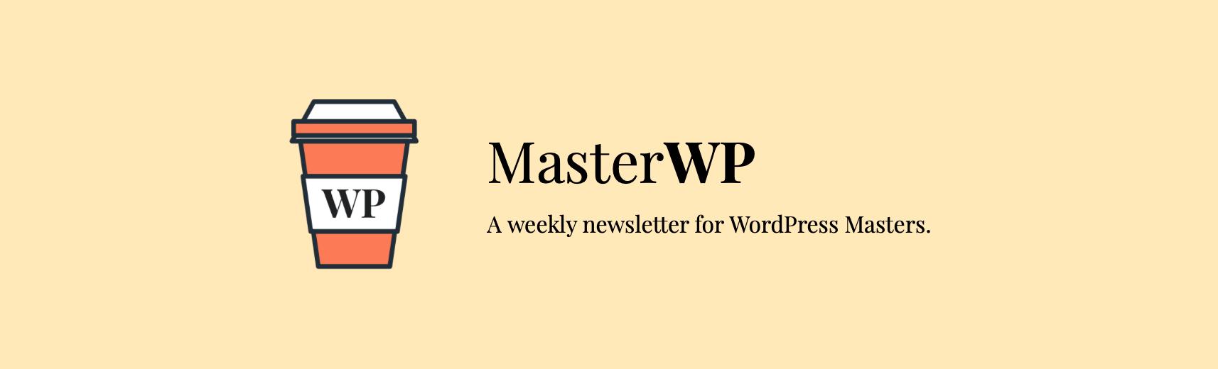 MasterWP通讯横幅。