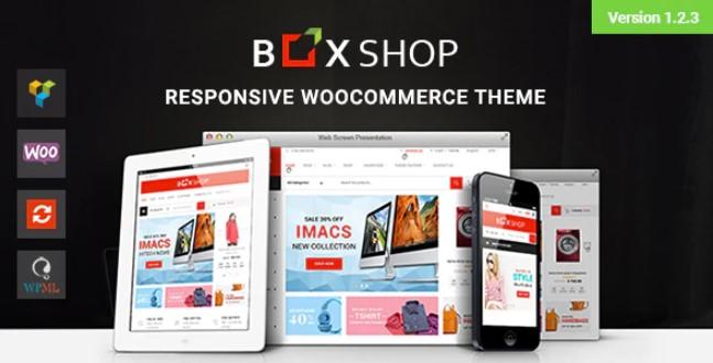 BoxShop-响应式WooCommerce WordPress主题