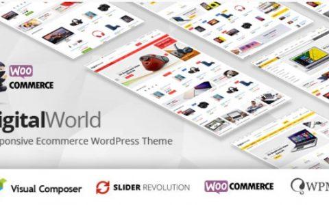 Digitalworld v1.2.5 –多功能WordPress主题