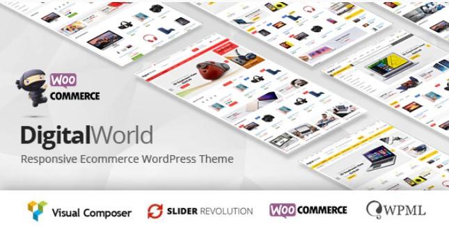 Digitalworld-多功能WordPress主题