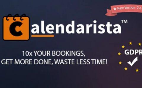 Calendarista Premium v7.9.3 –预约预订插件和计划系统