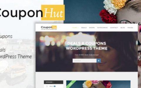 CouponHut v3.0.1 –优惠券和交易WordPress主题