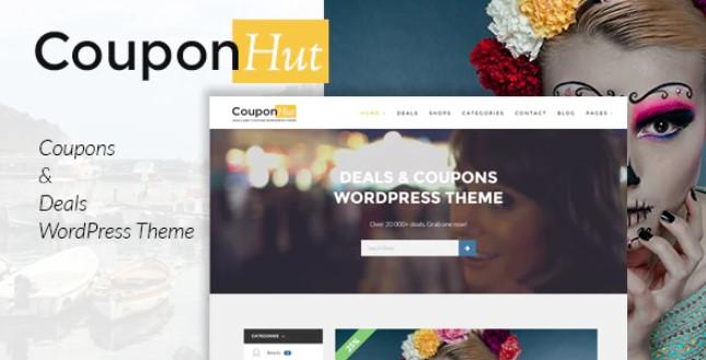 CouponHut-优惠券和交易WordPress主题