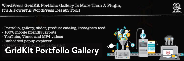 GridKit Portfolio Gallery插件