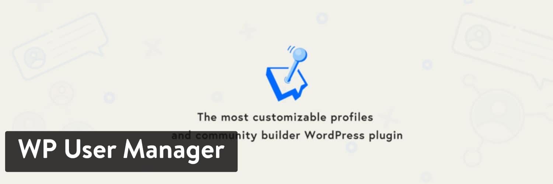 WP用户管理器WordPress插件