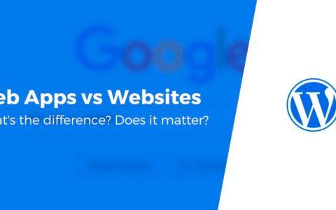 Web Apps与网站:有什么区别?有关系吗?