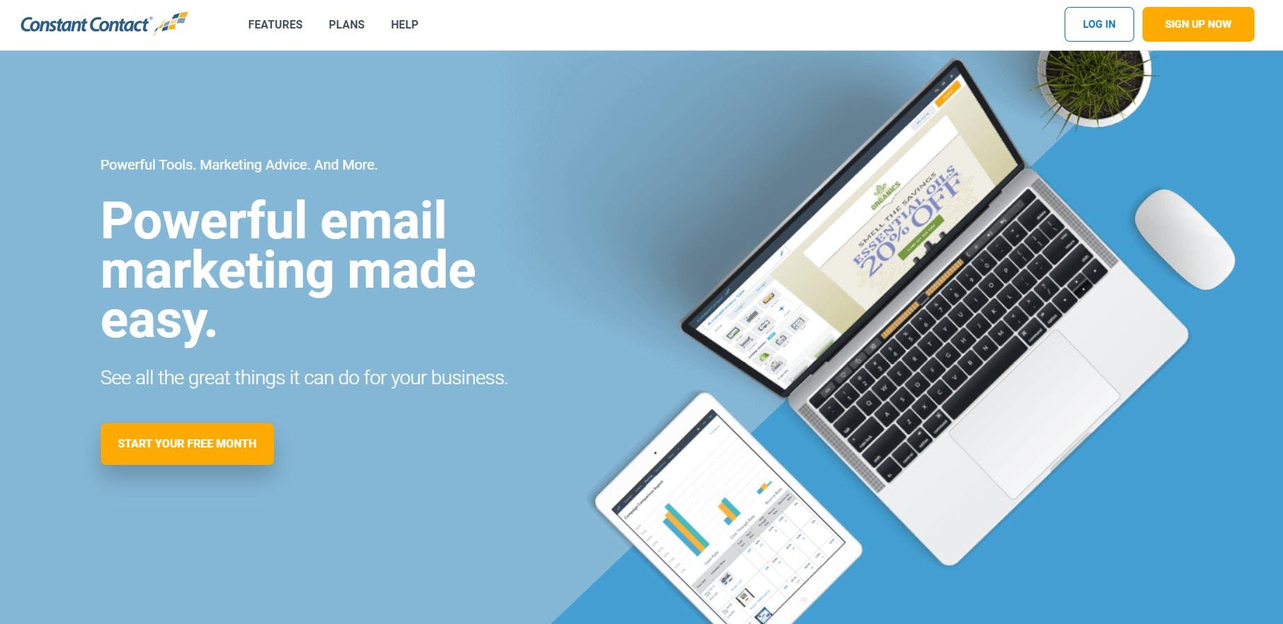 Mailchimp alternatives-continuous contact