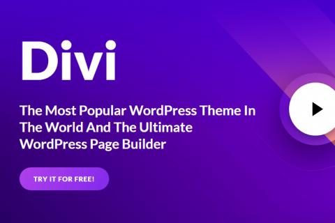 Divi v4.0.5 –最受欢迎的WordPress主题