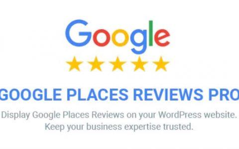 Google Places Reviews Pro v2.0.1 –高级WordPress插件