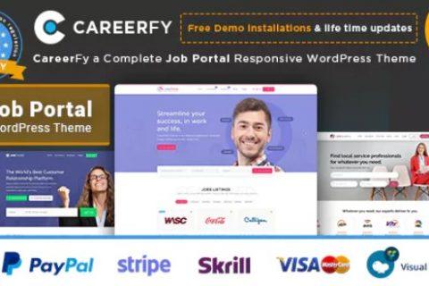 Careerfy v2.5.8 –响应式工作板WordPress主题