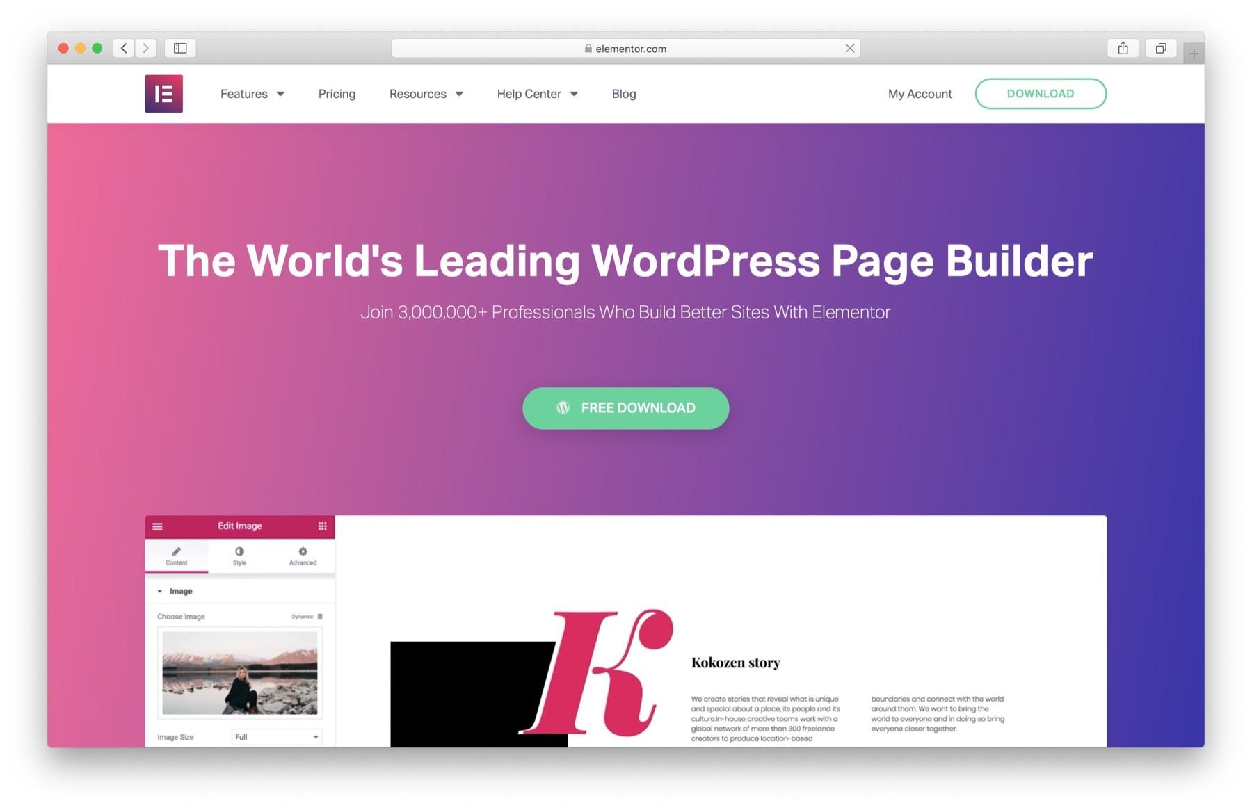 WordPress黑色星期五2019:Elementor