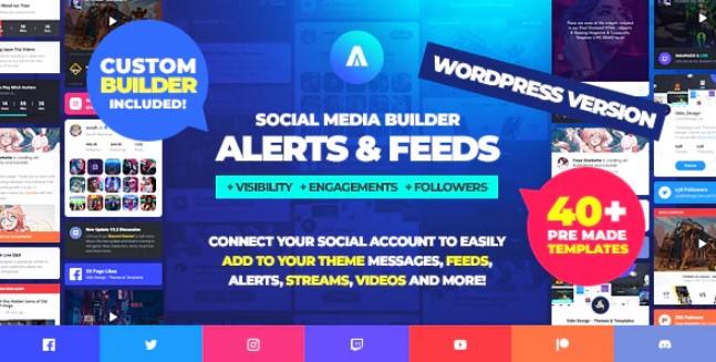 Asgard-社交媒体警报和提要WordPress Builder